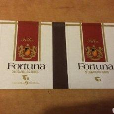 Cajas de Cerillas: CAJA DE CERILLAS PLANCHA DE TABACO FORTUNA. FOSFORERA ESPAÑOLA. Lote 206948983