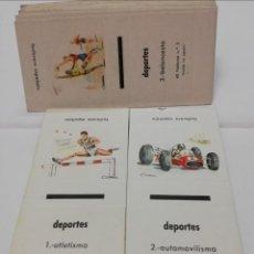 Cajas de Cerillas: CAJAS CERILLAS DEPORTES. Lote 208414316