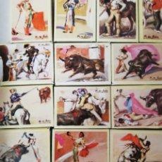 Cajas de Cerillas: CAJAS CERILLAS TAURINAS. Lote 208488618