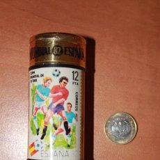 Cajas de Cerillas: 1 CAJA DE CERILLAS GRANDE REDONDA DEL MUNDIAL DE FUTBOL ESPAÑA 82 SIN FOSFOROS AÑO 1982. Lote 208870570