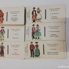 Cajas de Cerillas: CERILLAS TRAJES TÍPICOS EUROPEOS. Lote 209116930