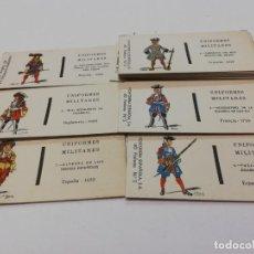 Cajas de Cerillas: CERILLAS UNIFORMES MILITARES. Lote 209117350