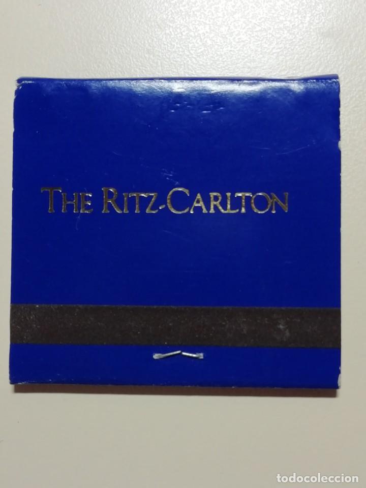 Cajas de Cerillas: LOTE DE 7 CAJAS ANTIGUAS DE CERILLAS PUBLICITARIAS- HOTEL RITZ CARLTON DE NEW YORK-AÑOS 70 - Foto 4 - 209705941