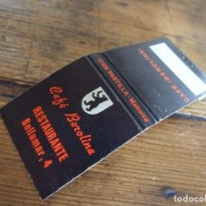Cajas de Cerillas: CAJA DE CERILLAS - CAFE BEROLINA MALLORCA - FOSFORERA ESPAÑOLA SIN USO. Lote 210490822