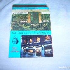 Cajas de Cerillas: ANTIGUA CARTERITA DE CERILLAS CON PUBLICIDAD. BAR-RESTAURANTE-MARISQUERÍA CASA GALLEGA, DE MADRID.. Lote 211278427