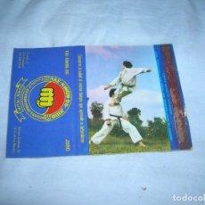 Cajas de Cerillas: ANTIGUA CARTERITA CERILLAS PUBLICIDAD. HAN-KUK, TAE-KWON-DO, JUDO. ALCOBENDAS - S. S. DE LOS REYES.. Lote 211641425