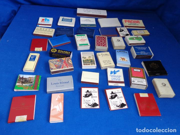 Cajas de Cerillas: LOTE MAS DE 30 CAJAS DE CERILLAS ANTIGUAS VER FOTOS! SM - Foto 2 - 212521298