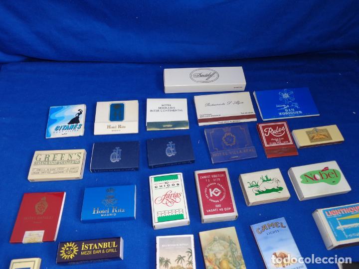 Cajas de Cerillas: LOTE MAS DE 30 CAJAS DE CERILLAS ANTIGUAS VER FOTOS! SM - Foto 6 - 212521298