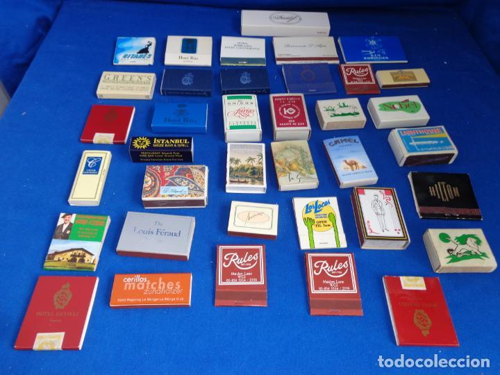 Cajas de Cerillas: LOTE MAS DE 30 CAJAS DE CERILLAS ANTIGUAS VER FOTOS! SM - Foto 7 - 212521298