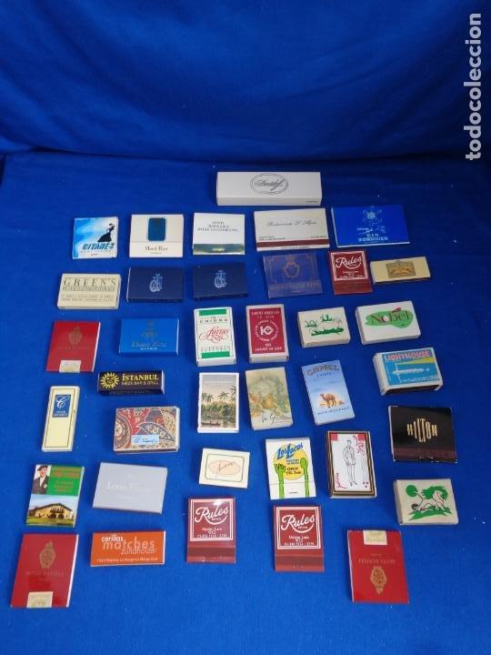 Cajas de Cerillas: LOTE MAS DE 30 CAJAS DE CERILLAS ANTIGUAS VER FOTOS! SM - Foto 8 - 212521298