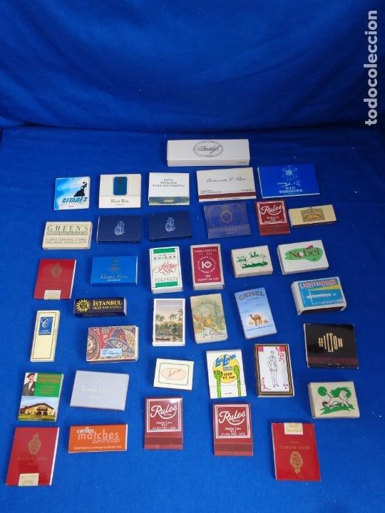 Cajas de Cerillas: LOTE MAS DE 30 CAJAS DE CERILLAS ANTIGUAS VER FOTOS! SM - Foto 9 - 212521298