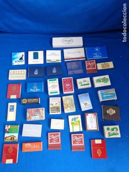 LOTE MAS DE 30 CAJAS DE CERILLAS ANTIGUAS VER FOTOS! SM (Coleccionismo - Objetos para Fumar - Cajas de Cerillas)