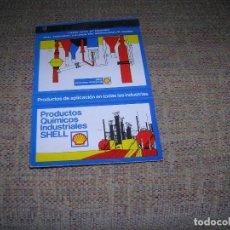 Cajas de Cerillas: CARTERITA CERILLAS PUBLICIDAD. SHELL. PRODUCTOS QUÍMICOS INDUSTRIALES. SOCIEDAD PETROLÍFERA ESPAÑOLA. Lote 213719165