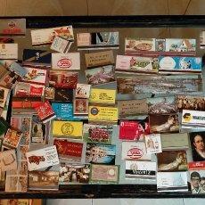 Cajas de Cerillas: 140 CAJAS DE CERILLAS DE LIBRILLO O CARTERILLA. CASI TODAS AÑOS 60. Lote 266639738