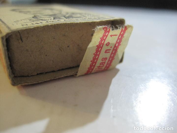 Cajas de Cerillas: CAJA DE CERILLAS DE FUTBOL-JOSE ALBA-MALAGA-TEMPORADA 1936 1937-GUERRA CIVIL-VER FOTOS-(V-21.780) - Foto 4 - 214853466