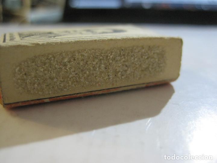 Cajas de Cerillas: CAJA DE CERILLAS DE FUTBOL-JOSE ALBA-MALAGA-TEMPORADA 1936 1937-GUERRA CIVIL-VER FOTOS-(V-21.780) - Foto 5 - 214853466