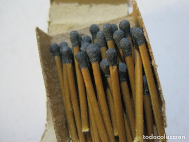 Cajas de Cerillas: CAJA DE CERILLAS DE FUTBOL-JOSE ALBA-MALAGA-TEMPORADA 1936 1937-GUERRA CIVIL-VER FOTOS-(V-21.780) - Foto 8 - 214853466