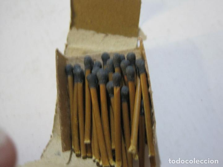 Cajas de Cerillas: CAJA DE CERILLAS DE FUTBOL-JOSE ALBA-MALAGA-TEMPORADA 1936 1937-GUERRA CIVIL-VER FOTOS-(V-21.780) - Foto 11 - 214853466
