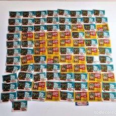 Cajas de Cerillas: LOTE DE ANTIGUAS ESTAMPILLAS DE CAJAS DE CERILLAS EXTRANJERAS (90 APROX) 3.5 X 5.CM. Lote 215297071