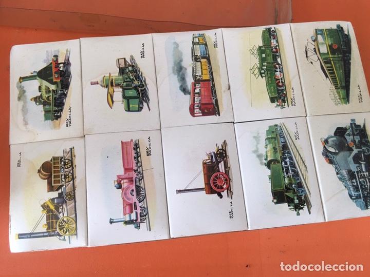 Cajas de Cerillas: COLECCION COMPLETA CAJA DE CERILLAS DE TRENES DE RENFE - FOSFORERA ESPAÑOLA - Foto 10 - 116959803