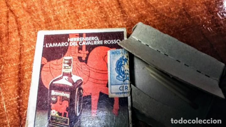 Cajas de Cerillas: Antigua caja de cerillas LAmaro del Cavaliere Rosso. Napoles Italia - Foto 4 - 218287106