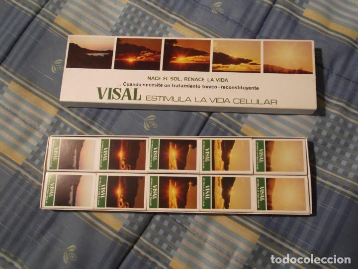 ESTUCHE 10 CAJAS CERILLAS FARMACIA VISAL (Coleccionismo - Objetos para Fumar - Cajas de Cerillas)
