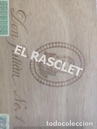 Cajas de Cerillas: CAJA VACIA TABACO DON JULIAN Nº 1 NUMERADA - Foto 3 - 218312826