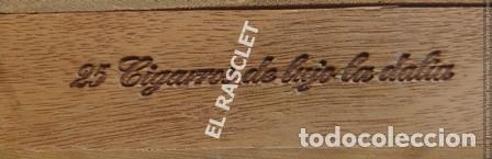 Cajas de Cerillas: CAJA VACIA TABACO DON JULIAN Nº 1 NUMERADA - Foto 5 - 218312826