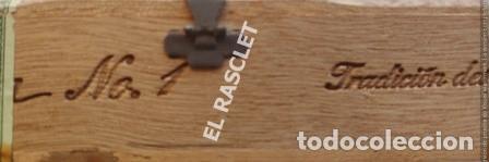 Cajas de Cerillas: CAJA VACIA TABACO DON JULIAN Nº 1 NUMERADA - Foto 9 - 218312826