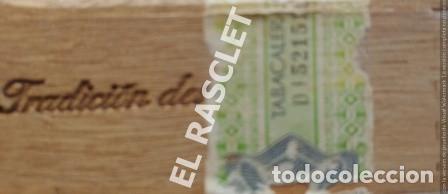 Cajas de Cerillas: CAJA VACIA TABACO DON JULIAN Nº 1 NUMERADA - Foto 11 - 218312826