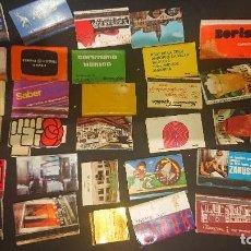 Cajas de Cerillas: LOTE DE 31 CAJAS DE CERILLAS DE PROPAGANDA ALGUNAS PUEDEN ESTAR VACIAS , LEER DESCRIPCION. Lote 218348725