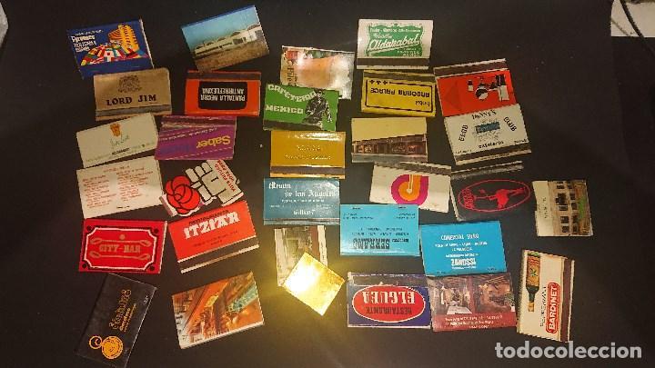 Cajas de Cerillas: LOTE DE 31 CAJAS DE CERILLAS DE PROPAGANDA ALGUNAS PUEDEN ESTAR VACIAS , LEER DESCRIPCION - Foto 2 - 218348725