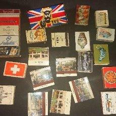 Cajas de Cerillas: LOTE DE 30 CAJAS DE CERILLAS DE PROPAGANDA ALGUNAS PUEDEN ESTAR VACIAS , LEER DESCRIPCION. Lote 218348728