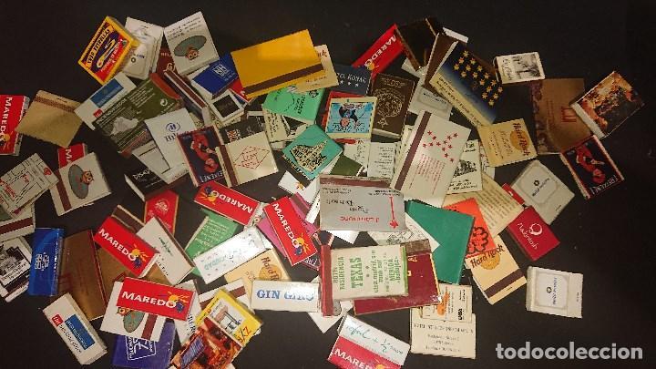 LOTE DE 456 GR DE CAJAS DE CERILLAS DE PROPAGANDA ALGUNAS PUEDEN ESTAR VACIAS , LEER DESCRIPCION (Coleccionismo - Objetos para Fumar - Cajas de Cerillas)
