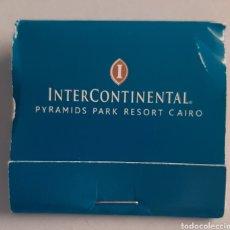 Cajas de Cerillas: CAJA DE CERILLAS EGIPTO - HOTEL INTERCONTINENTAL CAIRO. Lote 221336935