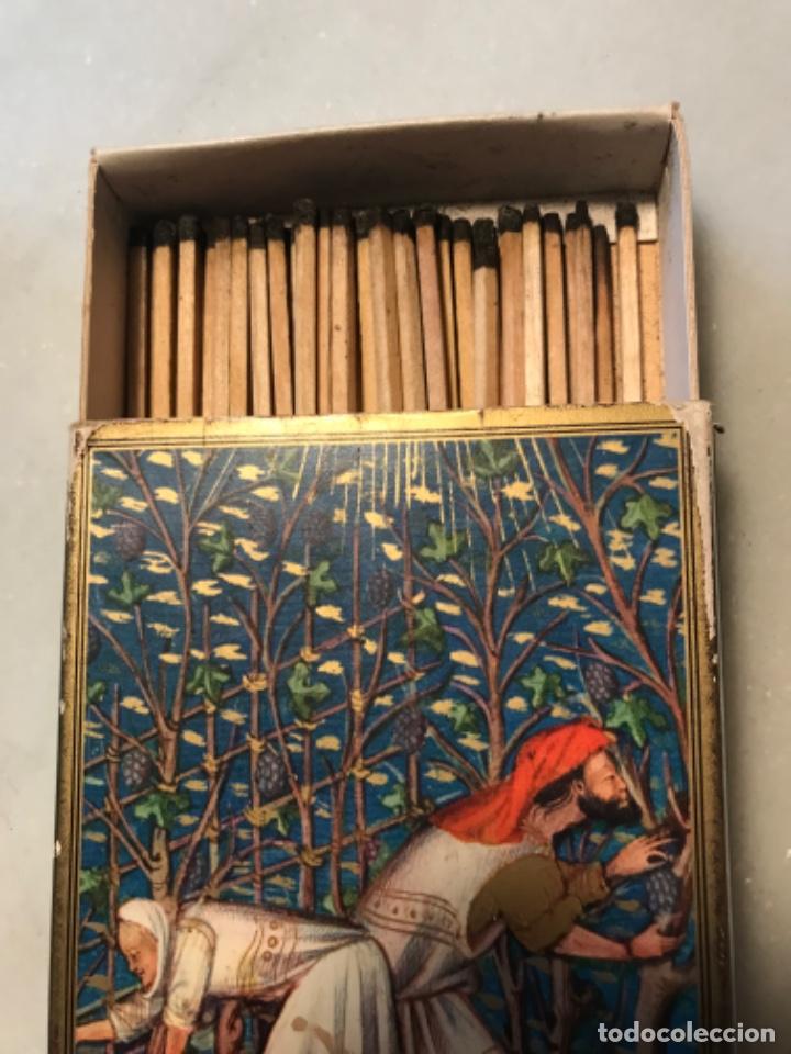 Cajas de Cerillas: Caja cerillas Francia - Foto 2 - 221466878