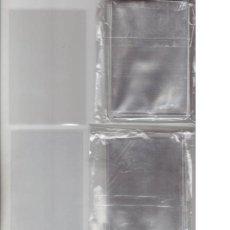 Cajas de Cerillas: 100 FUNDAS INDIVIDUALES PARA CALENDARIOS, CROMOS, LOTERÍA, ONCE, POSTALES, SELLOS, CAJAS CERILLAS. Lote 221505475