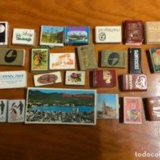 Cajas de Cerillas: LOTE DE 282 CAJITAS DE CERILLAS VARIADAS. Lote 221516832