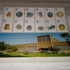 Cajas de Cerillas: CAJA DE CERILLAS CON 12 UNIDADES PUBLICIDAD DE SINTERMETAL S.A.. Lote 221833087