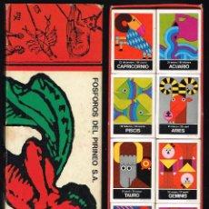 Cajas de Cerillas: ZODIACO - CAJA CONTENIENDO 12 CAJITAS DE CERILLAS - VER FOTOS. Lote 221834822
