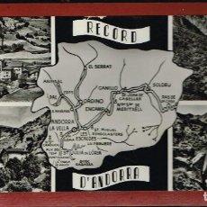 Cajas de Cerillas: RECORD D'ANDORRA - CAJA COMPUESTA POR 12 CAJITAS DE CERILLAS PEGADAS QUE ABREN HACIA LOS COSTADOS. Lote 221931676
