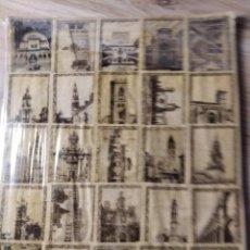 Cajas de Cerillas: CONJUNTO DE 2 BLISTER CONTENIENDO 90 CARATULAS DE MONUMENTOS NACIONALES DE CAF. Lote 222096468