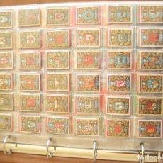 Cajas de Cerillas: ALBUM COLECCIONES VARIAS DE CROMOS DE CAJAS DE CERILLAS (CERCA DE 500 PIEZAS). Lote 222474988