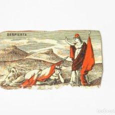 Cajas de Cerillas: CROMO DE CAJA DE CERILLAS DE LA PRIMERA REPÚBLICA - DESPIERTA. Lote 222592421
