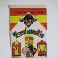 Cajas de Cerillas: TOROLANDIA-CERILLAS-ALBUM CON 6 CAJAS CROMOS TROQUELADOS-TOROS-VER FOTOS-(V-22.367). Lote 223505708