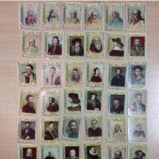 Cajas de Cerillas: 75 CROMOS - FOTOTIPIAS CAJA DE CERILLAS - SERIE 20, COMPLETA. Lote 223994450