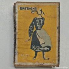 Cajas de Cerillas: CAJA DE CERILLAS SEITA. SERIE TRAJES TÍPICOS (BRETAGNE).. Lote 228768845