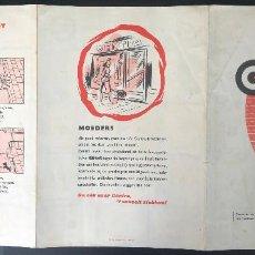Cajas de Cerillas: CENTRA AUTOMERKEN-LUCIFERS 1957. Lote 229835995