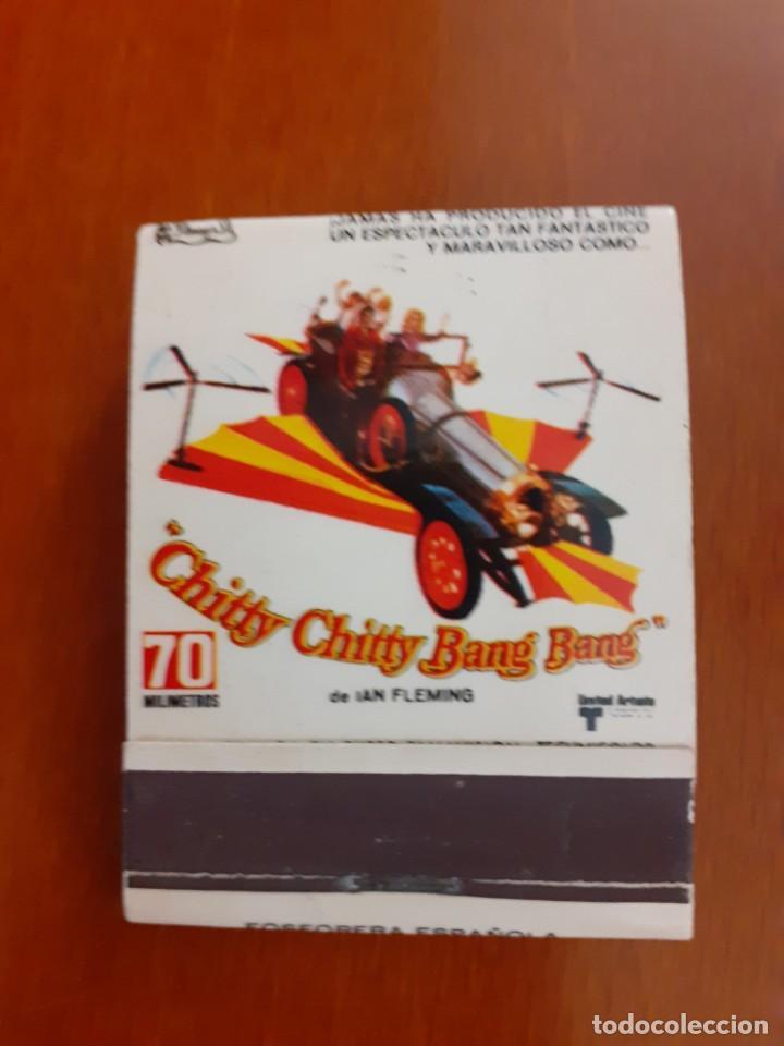 CAJETILLA DE CERILLAS DEL ESTRENO DEL FILM CHITTY CHITTY BAM BAM (Coleccionismo - Objetos para Fumar - Cajas de Cerillas)