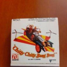 Cajas de Cerillas: CAJETILLA DE CERILLAS DEL ESTRENO DEL FILM CHITTY CHITTY BAM BAM. Lote 232420420